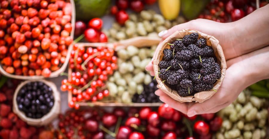 Potraviny bohaté na antioxidanty
